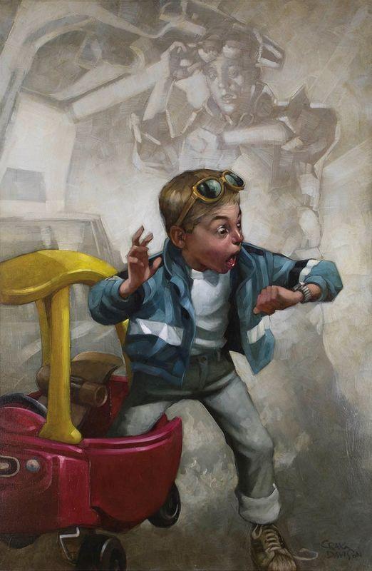 Playtime - Mounted by Craig Davison