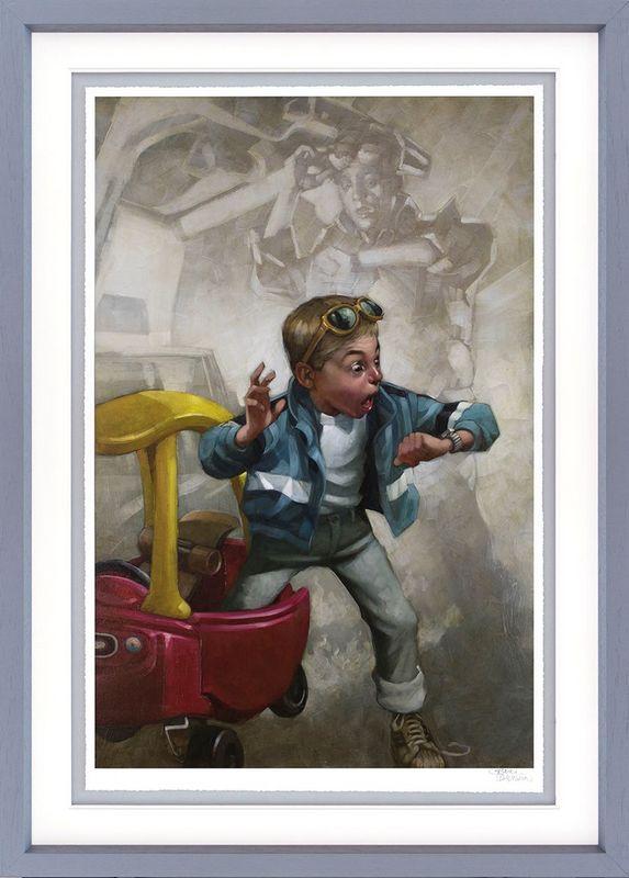 Playtime - Framed by Craig Davison