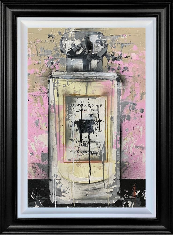 Pomegranate Noir - Original - Black Framed by Jessie Foakes