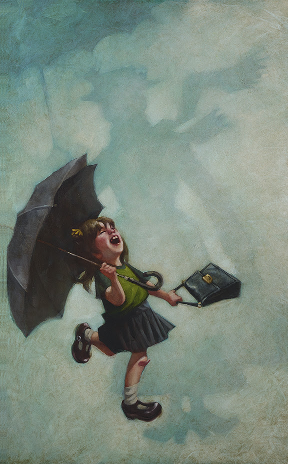 Practically Perfect In Every Way (Mary Poppins) - Canvas - Framed by Craig Davison