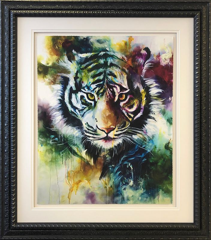 Presence 2019 - Original - Framed by Katy Jade Dobson