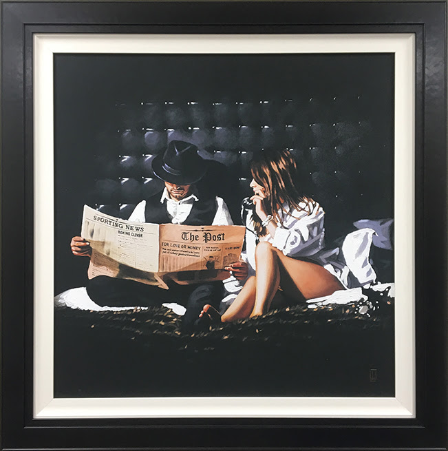 Priceless - Canvas - Framed by Richard Blunt