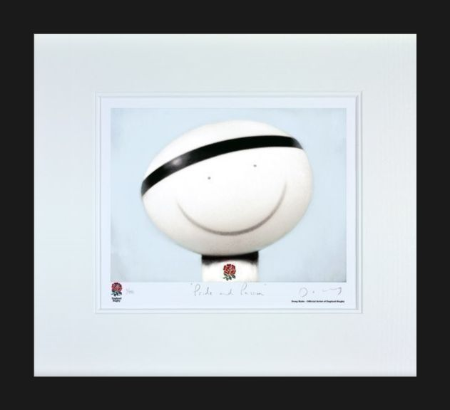Pride And Passion - Black Framed by Doug Hyde