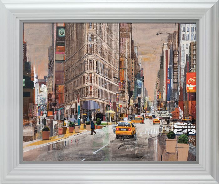 Pride Of Manhattan - Framed