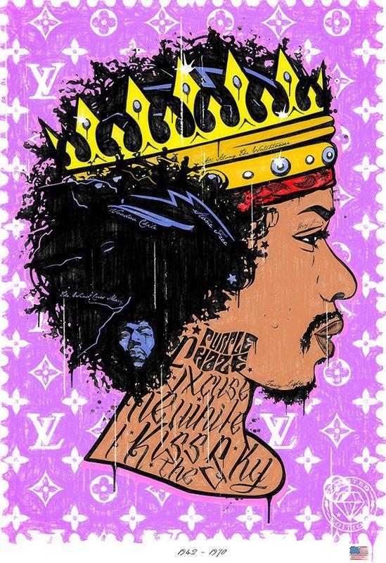 Purple Haze - Jimi Hendrix by JJ Adams