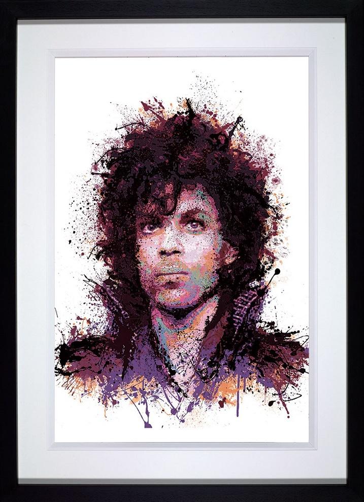 Purple Reign - Framed by Daniel Mernagh