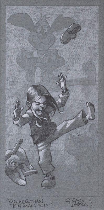 Quicker Than The Human Eye - Sketch by Craig Davison