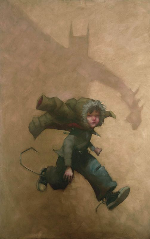 Quickly To The Batcave - Framed by Craig Davison