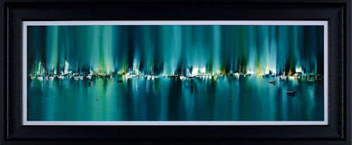 Radiant Harbour - Framed by Philip Gray