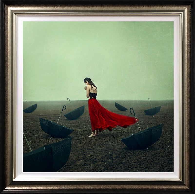 Rainy Days - Artist Proof Framed by Michelle Mackie