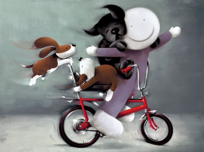 Riding High - Black Framed by Doug Hyde