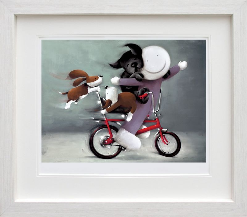 Riding High - Framed by Doug Hyde