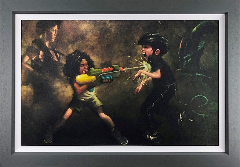 Ripley's Game (Aliens) - Canvas - Framed by Craig Davison