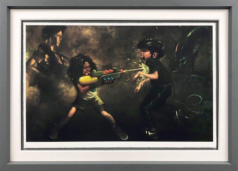 Ripley's Game (Aliens) - Framed by Craig Davison