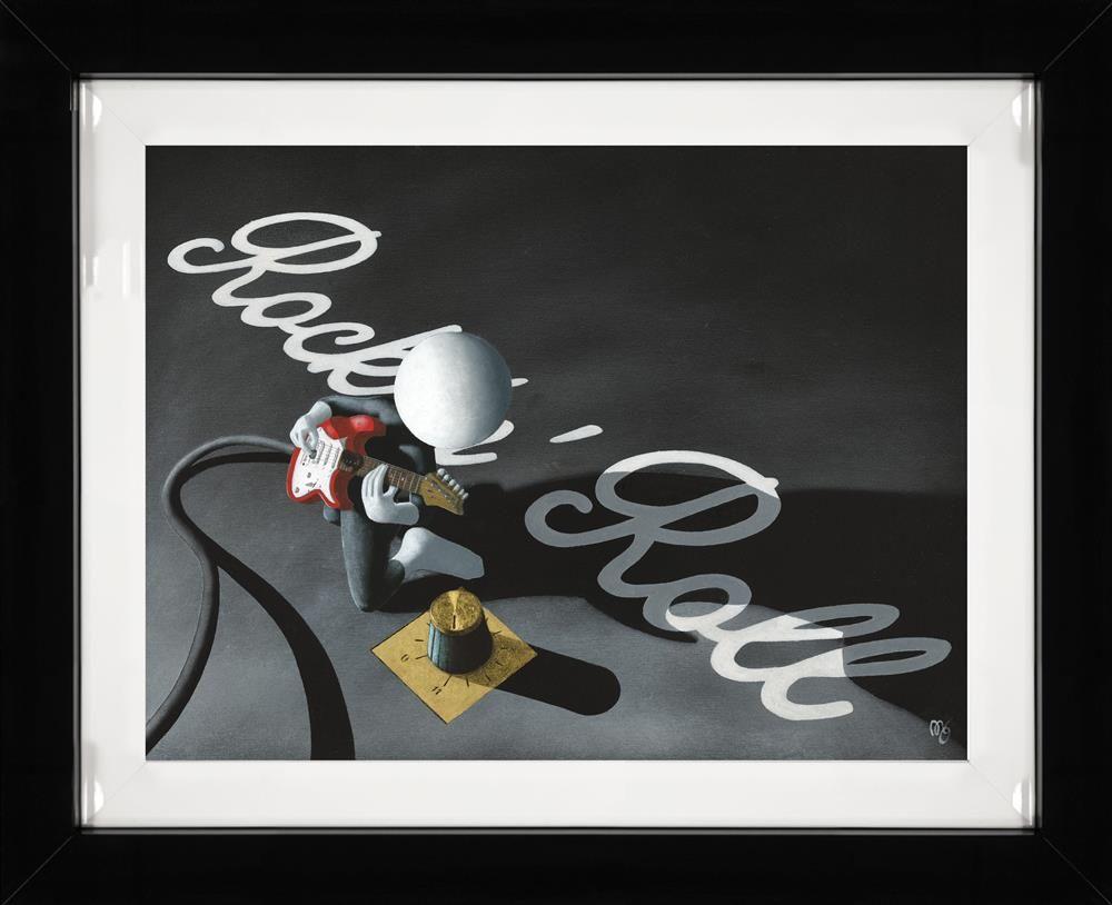 Rock N Roll - 3D High Gloss Resin - Framed by Mark Grieves