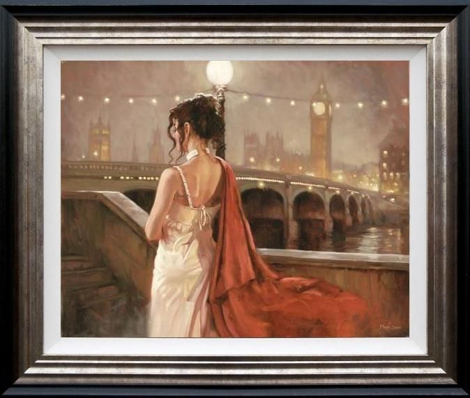 Romantic Reflections - Framed by Mark Spain