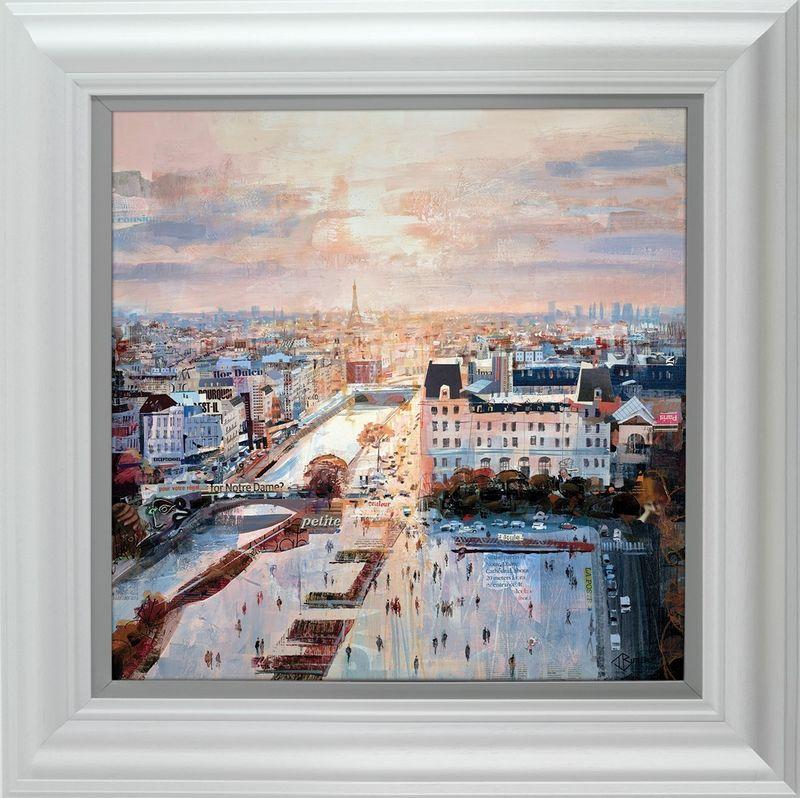 Roof Top Reverie - Framed by Tom Butler