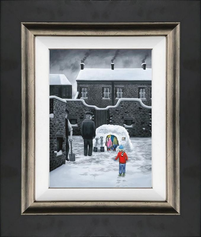 Room For One More - Canvas - Framed by Leigh Lambert