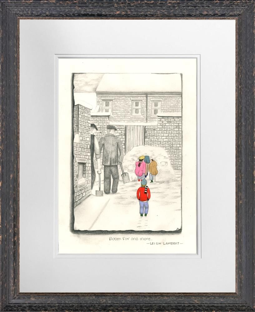 Room For One More - Sketch - Framed by Leigh Lambert