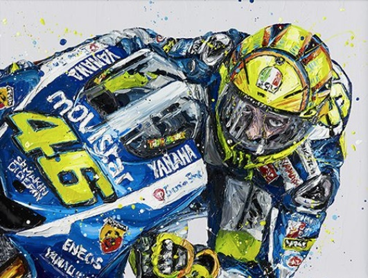 Rossi - Canvas - Framed by Paul Oz