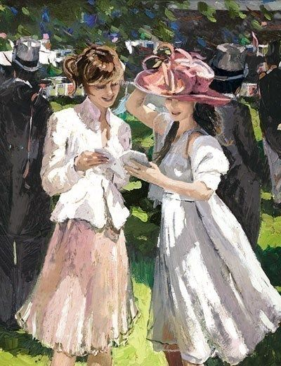 Royal Ascot Ladies Day by Sherree Valentine Daines