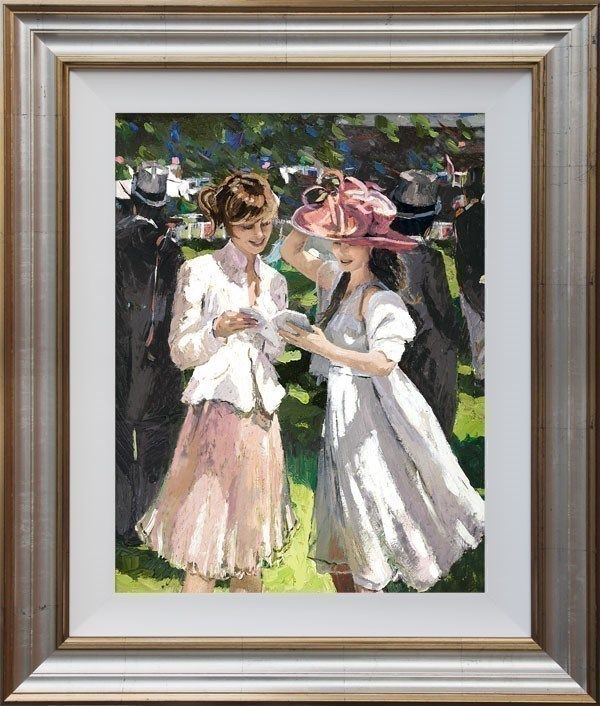 Royal Ascot Ladies Day II - Framed by Sherree Valentine Daines