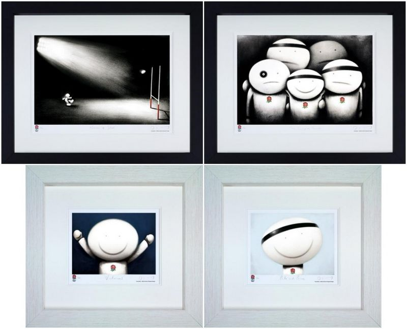 Rugby World Cup - Set - Framed by Doug Hyde