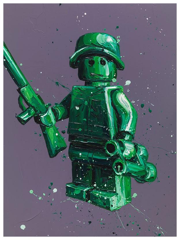 Ryan (Lego) by Paul Oz