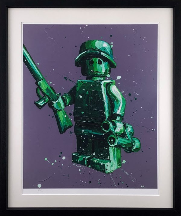Ryan (Lego) - Framed by Paul Oz