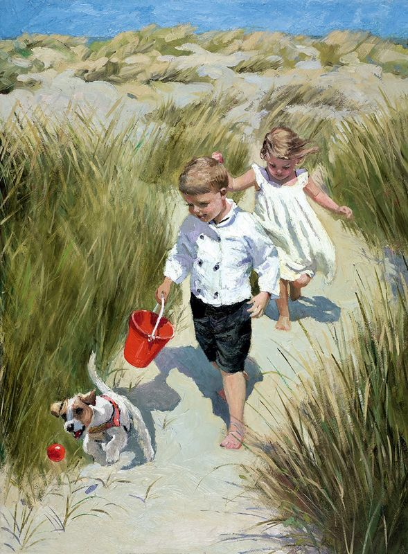 Sand Dune Haven - Board Only by Sherree Valentine Daines