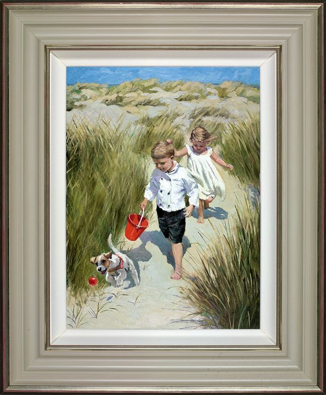 Sand Dune Haven - Framed by Sherree Valentine Daines