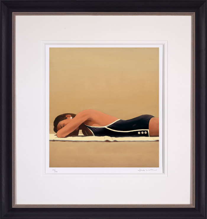 Scorched - Framed by Jack Vettriano