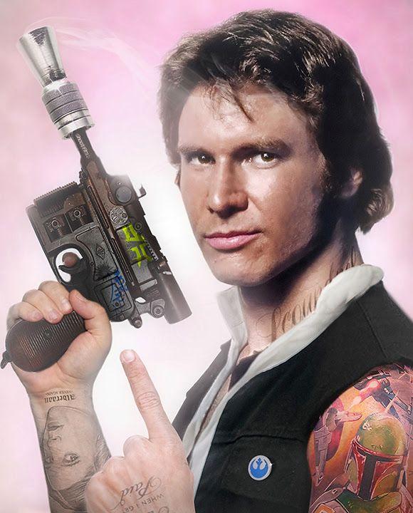 Scoundrel - Han Solo by JJ Adams