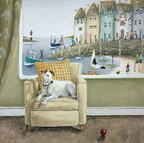Sea Side Seat  by Rebecca Lardner