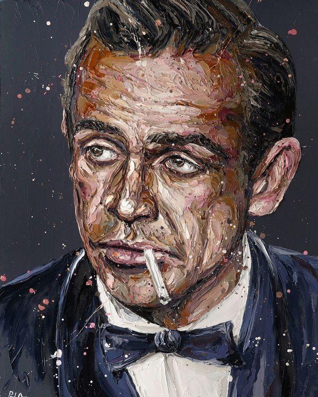 Sean Connery 007 by Paul Oz
