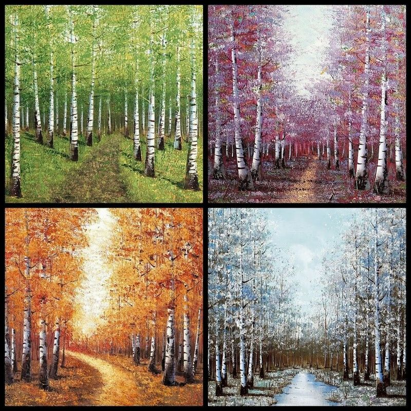 Seasons Set Of 4 by Inam