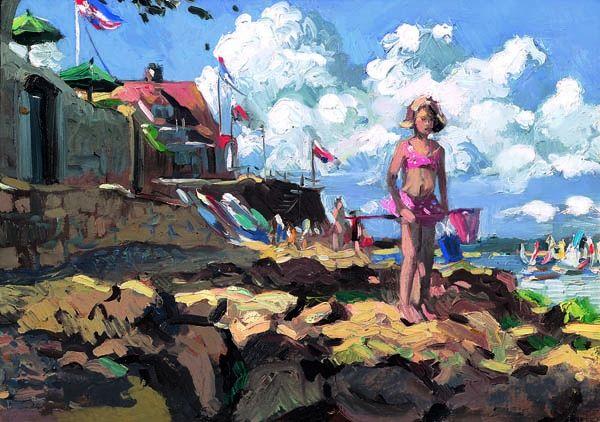 Seaview III - Board Only by Sherree Valentine Daines