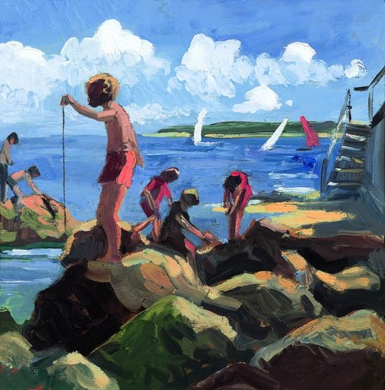 Seaview V - Board Only by Sherree Valentine Daines