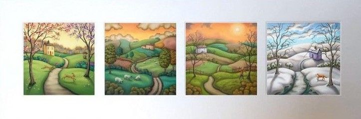 Secrets Of The Seasons - Mounted by Paul Horton