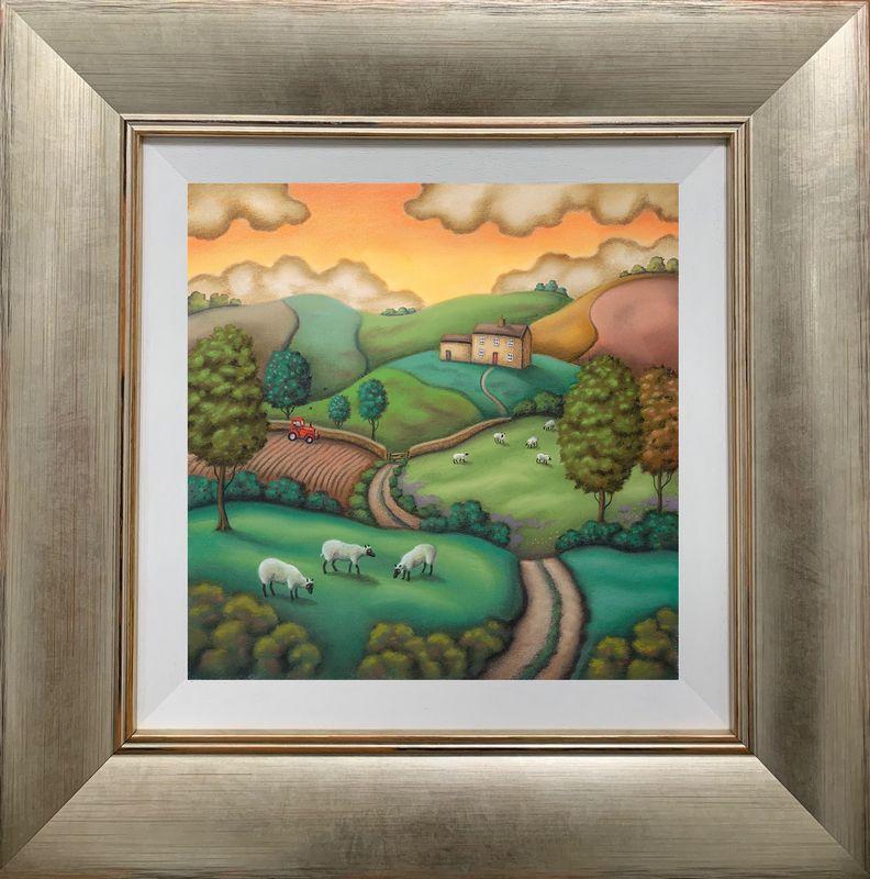 Secrets Of The Seasons - Summer - Framed by Paul Horton