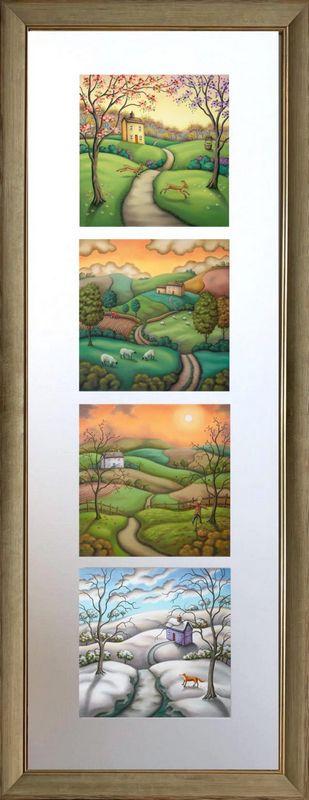 Secrets of the Seasons - Upright Presentation - Framed by Paul Horton