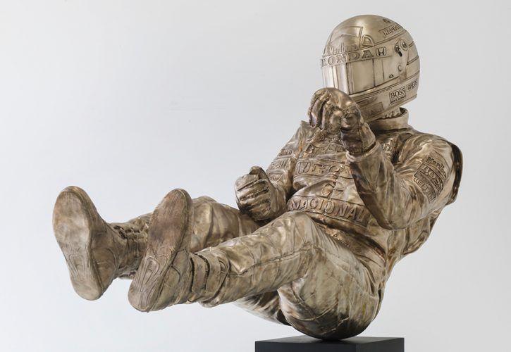 Senna - Sculpture by Paul Oz