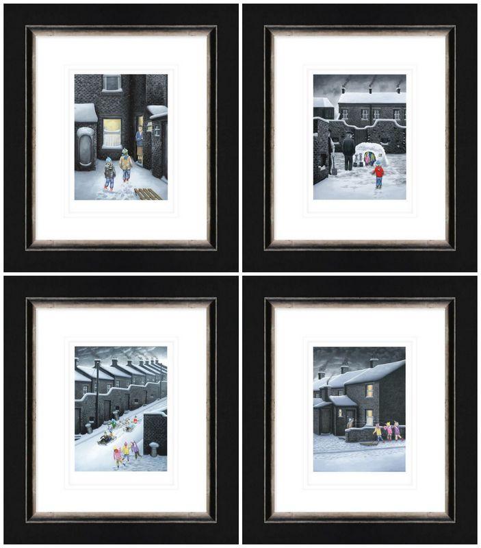 Set Of Four Winter Releases 2019 - Framed by Leigh Lambert