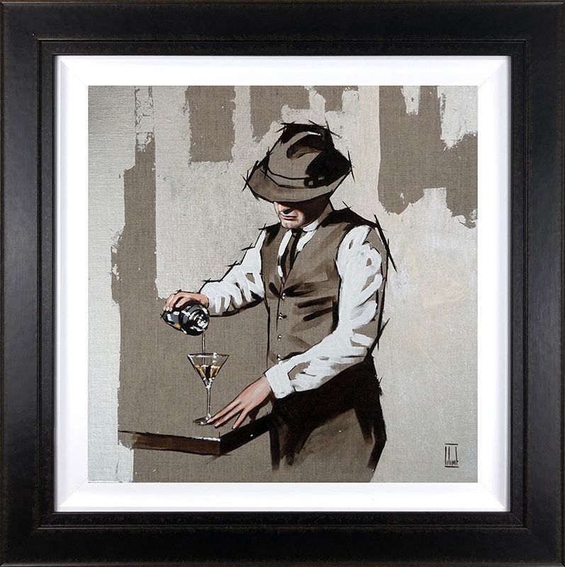 Shaken, Not Stirred - Original - Framed by Richard Blunt