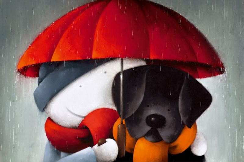 Showered With Love - Picture - Mounted by Doug Hyde