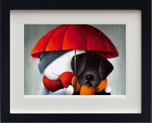 Showered With Love - Picture - In Black - Framed by Doug Hyde