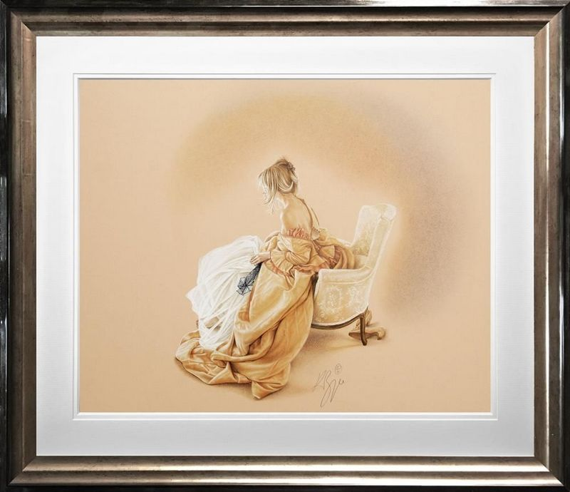 Sitting Pretty  - Framed by Kay Boyce