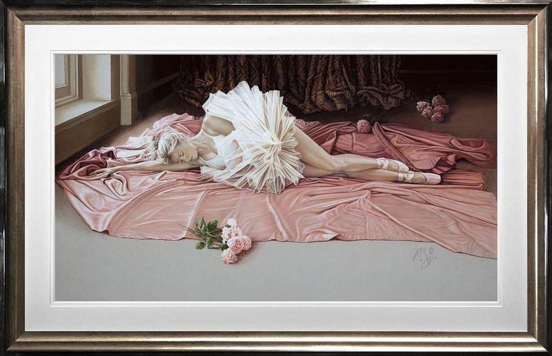 Sleeping Beauty - Framed by Kay Boyce