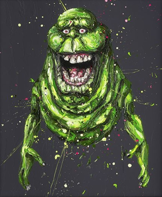 Slimer by Paul Oz