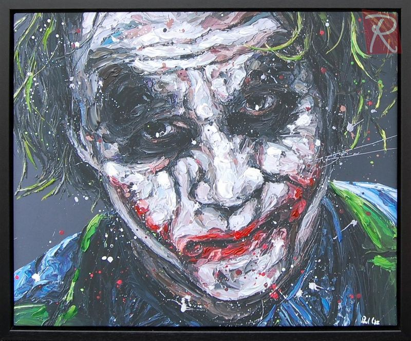 Smile Because It Confuses People - Canvas - Black Framed Box Canvas by Paul Oz